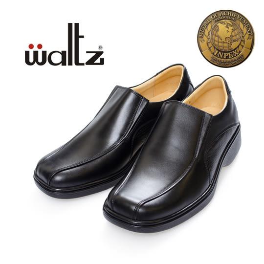 waltz-金牌獎專利輕呼吸氣墊鞋32008-02(黑)