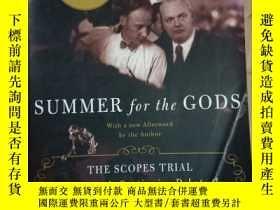 二手書博民逛書店Summer罕見for the Gods: The Scopes