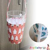 環保手提杯套 防水布料飲料杯套吸管收納-JoyBaby