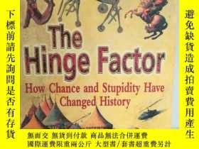 二手書博民逛書店好運鬼與笨罕見是如何扭轉戰爭走向的 The Hinge Fact