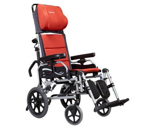 【贈好禮】康揚 鋁合金輪椅 仰躺型 水平椅 躺式輪椅 特製輪椅 501 KM-5001
