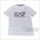 EMPORIO ARMANI印花黑字LOGO純棉短袖T恤(S/M/L/XL/XXL/白)
