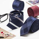 男士領帶結婚新郎小細領帶商務正裝職業上班窄休閒  全店88折特惠