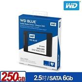 WD 威騰 SSD 250GB 2.5吋 3D NAND固態硬碟(藍標)