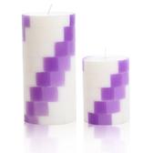 方塊階梯-薰衣草香氛手工蠟燭組