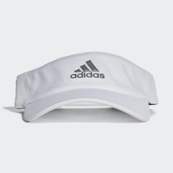 【折後$360】ADIDAS CLIMALITE VISOR 愛迪達 白色 遮陽帽 運動 網球 CF6918