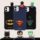 韓國 DC Comics 超人 蝙蝠俠 小丑 手機殼 公仔軟殼│S21 Ultra S20 S10 S10E S9 S8 Note20 Note10 Note9 Note8