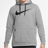 Nike Therma Hoodie 男款 灰 基本款 運動 休閒 連帽 上衣 CU6240-063