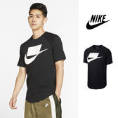 【GT】Nike NSW 黑 短袖T恤 純棉 運動 休閒 印花 上衣 短T Box Logo