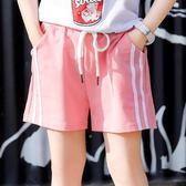 女童短褲夏裝薄款2018新款兒童外穿熱褲寬鬆運動褲中大童夏季褲子 芥末原創