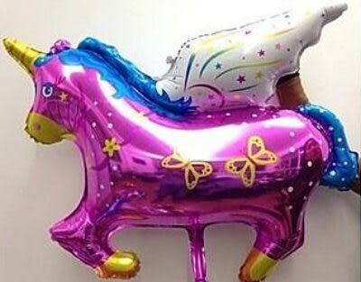小飛馬鋁箔氣球-紫色(未充氣)~~求婚道具/婚禮 生日 耶誕節 尾牙佈置