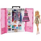 芭比閃亮造型衣櫃【含娃娃】