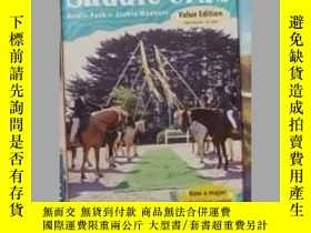 二手書博民逛書店英文原版罕見The Saddle Club-Bridle Pat