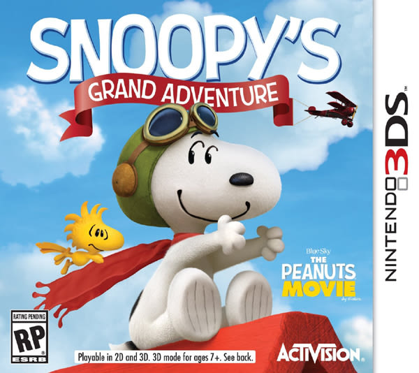 3DS Snoopy s Grand Adventure 史努比壯闊歷險記(美版代購)