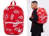 Hsin 87折 現貨 Herschel Lawson 限量 Coca Cola Coke 可口可樂 可樂 聯名 紅色 帆布 筆電層 後背包