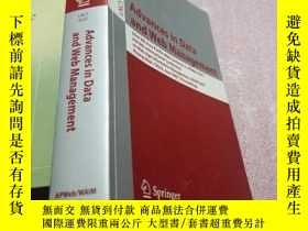 二手書博民逛書店Advances罕見in Data and Web Manage
