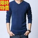 男針織毛衣新款氣質-好穿修身韓國流行男裝10色53k4【巴黎精品】