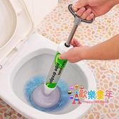 馬桶疏通器 馬桶疏通器通廁所堵塞皮搋子坐便器馬桶吸強力下水道工具管道神器 1色