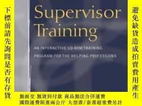 二手書博民逛書店Clinical罕見Supervisor Training: An Interactive Cd-rom Trai