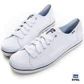 Keds 新竹皇家 Kickstart White 白色 條紋 帆布  休閒鞋 女款 NO.I7839