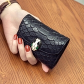 卡包錢包一體包女多功能小巧韓國多卡位精致高檔牛皮零錢小包 童趣潮品