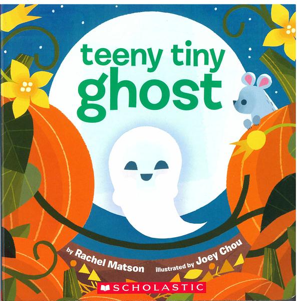 《萬聖節幼兒故事書》TEENY TINY GHOST/硬頁書【麥克書店】