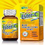 喜又美~Ester-C 中性維生素C 500毫克+鋅(複方)60錠/罐~買3罐送1罐~特惠中~