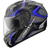 【東門城】ASTONE GTR N55 (碳纖藍) 全罩式安全帽 雙鏡片