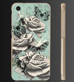 ✿ 俏魔女美人館✿ 【復古玫瑰花*金屬邊框】htc 728手機殼 手機套 保護套 保護殼