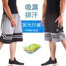 CS衣舖 3L-4L大尺碼 吸濕排汗 極度快乾 防掉拉鍊 運動短褲 伸縮腰圍 兩色 #2845