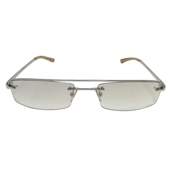 BURBERRY 巴寶莉 金屬格紋鏡架太陽眼鏡Sunglasses【二手名牌 BRAND OFF】