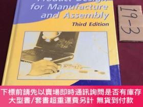 二手書博民逛書店product罕見design for manufacture and assemblyY237539 Win