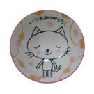 日本兒童飯碗 粉貓