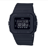 CASIO手錶專賣店   G-SHOCK DW-D5500BB-1 經典時尚電子錶 樹脂錶帶 霧面黑 十年電力 防水200米