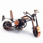 手工復古鐵藝摩托車 金屬工藝品擺件 家居飾品模型 創意禮品