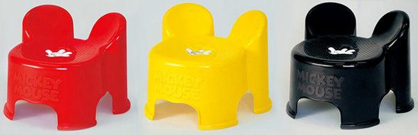 日本 迪士尼 Disney 米奇造型小板凳/兒童椅-紅