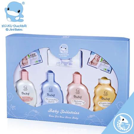 金寶貝 KUKU 酷咕鴨 有機溫和 嬰兒 沐浴 禮盒【01498】KU1062