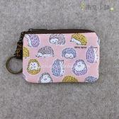 零錢包 包包 防水包 雨朵小舖 M293-510 回家key-粉暖暖嫩嫩的刺蝟03306 funbaobao