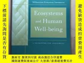 二手書博民逛書店Ecosystems罕見and Human Well-Being