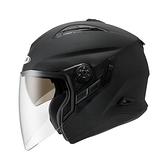 ZEUS瑞獅安全帽,ZS-613B,素色/消光黑