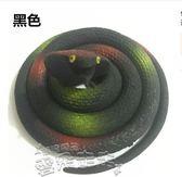 惡搞玩具仿真蛇玩具眼鏡蛇假田蛇模型兒童玩具軟膠橡膠蛇整人惡搞道具 雲朵走走