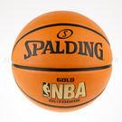 SPALDING斯伯丁~ 金色NBA-Rubber籃球 (SPA83013)