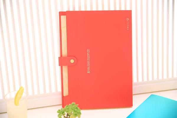 韓國文具 糖果色便利收納文件夾/檔案夾 (隨機出貨)  180g