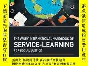 二手書博民逛書店The罕見Wiley International Handbook of Service-Learning for