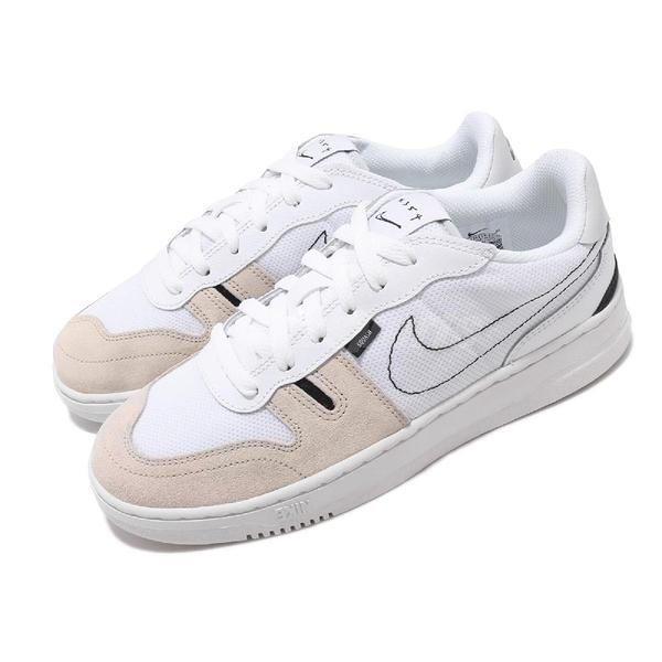 Nike 休閒鞋 Squash-Type GS 白 灰 女鞋 大童鞋 運動鞋 【PUMP306】 CJ4119-100