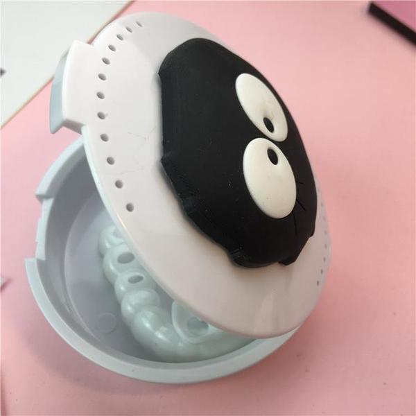 牙套盒 假牙保持器盒子牙套卡通收納盒牙齒矯正器隱適美攜帶盒牙套盒隱形