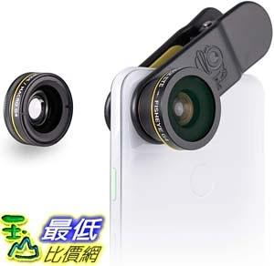 [9美國直購] BLACK EYE 手機鏡頭 5823860634 Phone Lenses Clip-on Lens (3 Lenses) Compatible with iPhone iPad