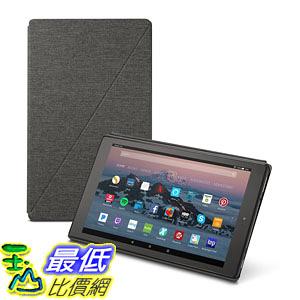 [107美國直購] 保護套 Amazon Fire HD 10 Tablet Case (7th Generation, 2017 Release), Charcoal Black