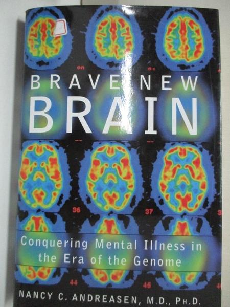 【書寶二手書T1/大學理工醫_KFM】Brave New Brain: Conquering Mental Illness…