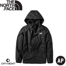 【The North Face 男 DryVent防水外套《黑》】49F7/防風外套/風衣/夾克
